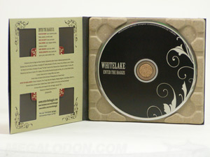 Recycled Paper Tray Digipak Cork Hub Uncoated