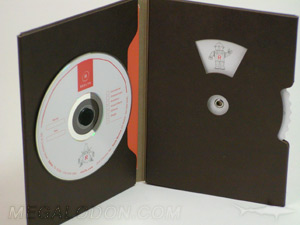 green dvd packaging plastic free fiberboard recycled paper